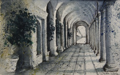 Galería de los Convalecientes, Monasterio SL de El Escorial