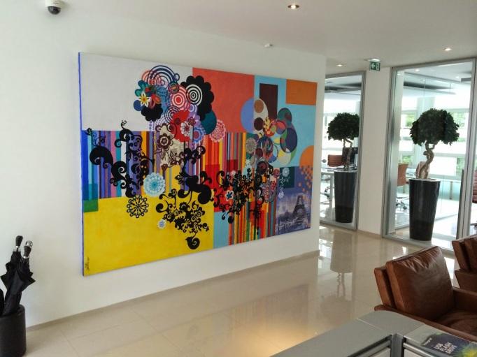 Abstracto 3, sede en París