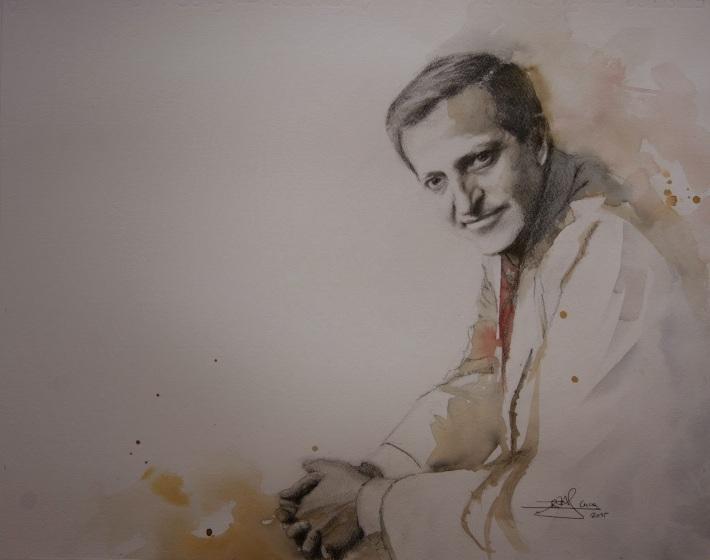 Adolfo Suárez. Sala de Retratos del 'Museo Adolfo Suárez y la Transición'