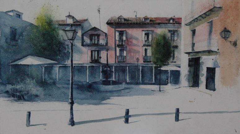 PREMIO Mejor Artista Local 2016. Plaza de la Cruz, SL de El Escorial