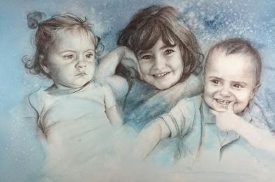 Laia, Pau y Jana