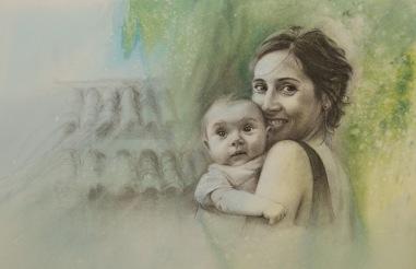 Guillermo y su mamá