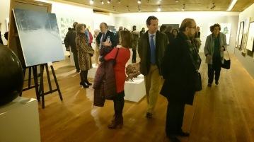 Exposición de las obras finalistas en el 50 Premio Reina Sofía de Pintura y Escultura 2015