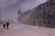 Loja nevada, Monasterio SL El Escorial