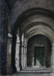 Puerta Capilla Universidad SL El Escorial