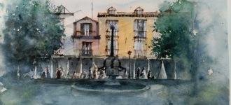 Plaza de La Cruz, SL de El Escorial