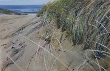 Playa de Den Helder, Holanda. Acrílico sobre lienzo, 100x80cm