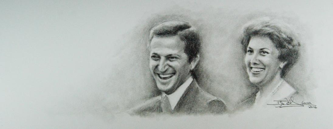 Adolfo Suárez y Amparo Illana