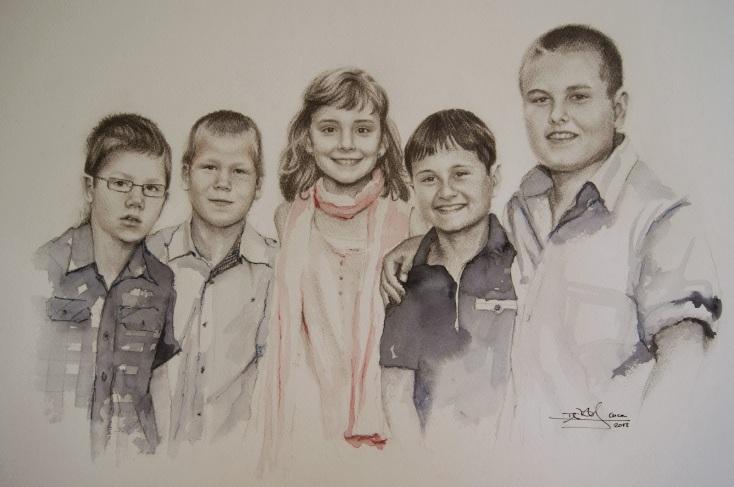Cinco nietos