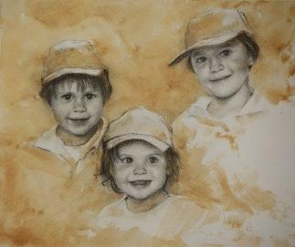 Arthur, Louis y Juliette
