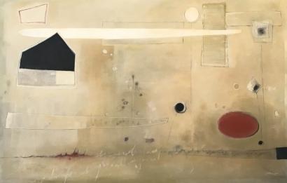 Abstracto 1, 240x180cm