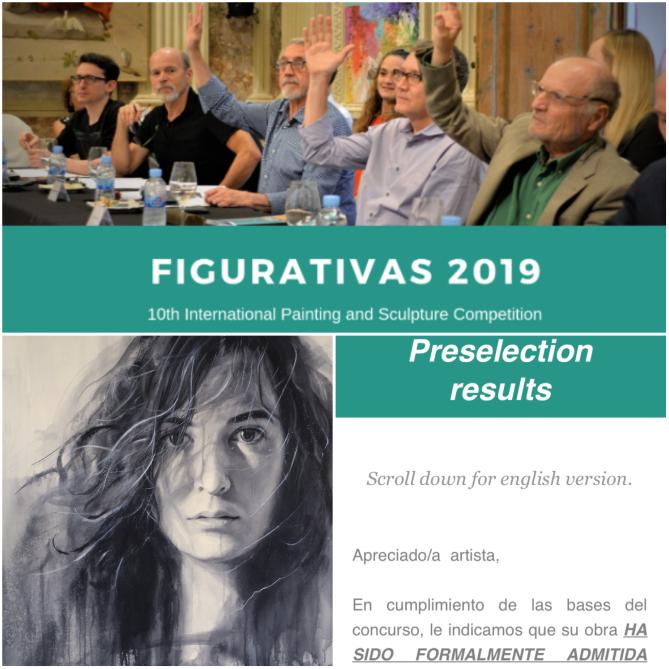 Concurso Internacional de Pintura del MEAM (Museo Europeo de Arte Moderno. Obra pre-seleccionada, Figurativas 2019.